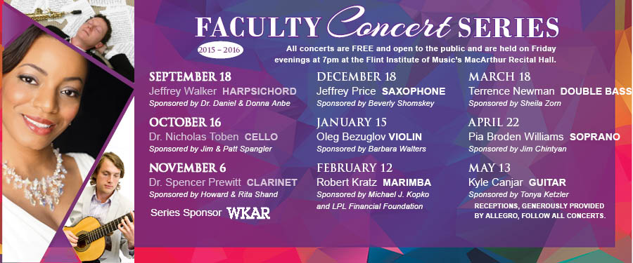 Faculity Concert Series